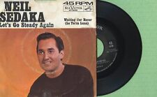 NEIL SEDAKA / Let's Go Steady Again / RCA VICTOR 47-8169 USA 1963 Single VG
