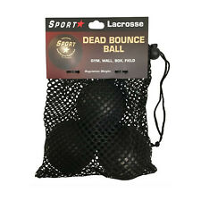 Sportstar Dead Bounce Training Ball 3 Pack Black 3Pack (12161)