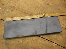 vintage black slate sharpening stone old natural hone plane chisel knife carving