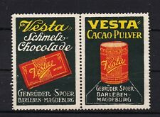 401272/ Reklamemarke - Vesta - Cacaopulver - Chocolade - Gebrüder Spoer - Magdeb