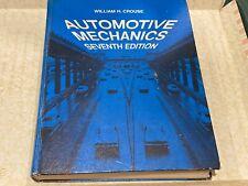 Automotive Mechanics,  1975 Seventh  Edition Book
