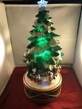 Large Lighted Christmas 2 Ft Tree Carol Music Box