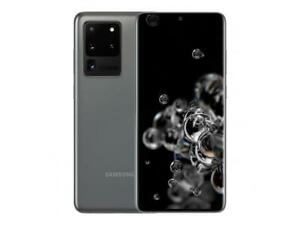 SR Samsung Galaxy S20 Ultra 5G (SM-G988U) 128GB Cosmic Gray GSM+CDMA Unlocked