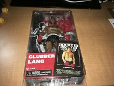 "Clubber Lang Mr. T Rocky III NECA 7"" Action Figure MIP"