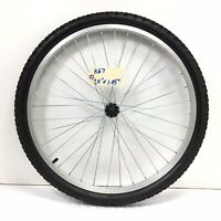 """Complete 24"""" Front Bicycle Alloy Wheel with 1.95"""" Tire Junior Mountain Bike #k67"""