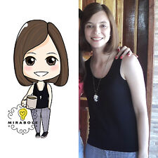 Personalized Illustration (Individual) Custom Caricature - Cartoon Portrait