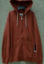 "Quicksilver Men's Zip up Hoodies ""Major"" Red"