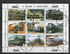 S. Tomé e Principe - Treinen / Trains / Eisenbahn