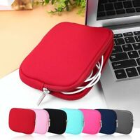 Laptop Cords Organizer Charger USB Cable Bag Small Storage Mouse Case Pouch