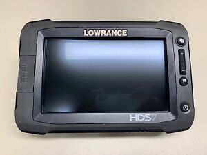 LOWRANCE HDS7 FISHFINDER W/ POWER CABLE *FULLY FUNCTIONAL*
