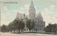 Indiana Ind Postcard 1911 RICHMOND Court House Building