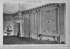"""large print from """" les vieux hotels de paris """"  hotel de chatelet  !"""