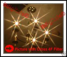 77mm Vari-Cross 4F Lens Filter 4PT Flares Dual Star HQ Beautiful light Effects