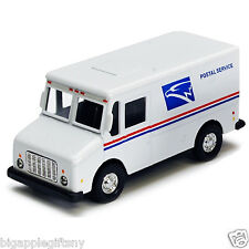 """4.5"""" truck USPS United States US Postal Service mail delivery diecast model"""