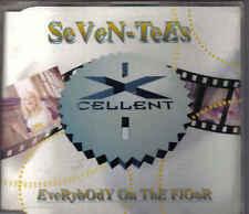 Seven-Tees-Everybody On The floor cd maxi single eurodance Holland