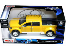 MAISTO 31213 FORD MIGHTY F-350 PICK UP TRUCK 1/31 DIECAST YELLOW