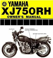 yamaha 750 owners manual in Vehicle Parts & Accessories | eBay