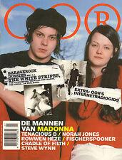 MAGAZINE OOR 2003 nr. 07 - WHITE STRIPES/MADONNA/NORAH JONES/DOSSIER GARAGEROCK