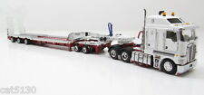 "Kenworth K200 w/ Drake Trailer - ""WHITE & RED"" - 1/50 - TWH #113-T09013A"