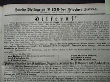 1867 Leipzig Elstra Gödlau Feuer in Brody Diebin Theuermeister aus Zeitz