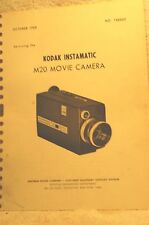 kodak Instamatic M20 Movie Camera Service Manual