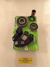 BMW 545i, 645ci, X5 Valeo OEM Alternator Voltage Regulator. slip rings,bearings