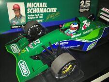 Jordan Ford 191 Michael Schumacher Belgian GP 1991 MINICHAMPS 510911801