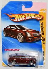 HOT WHEELS 2010 NEW MODELS '09 CADILLAC GTS-V #10/44 RED
