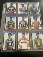 2019-20 Panini 1989 Donruss Rookie Retro 45 Card Set Zion Williamson Ja Morant +