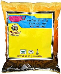 4 Bags Thai Iced Tea Traditional Restaurant Style,16 oz (1LB.)