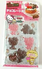 Sanrio Hello Kitty Chocolate Mould - 5 Shapes - Cakes Soaps Kawaii Crafts - New
