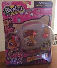 Shopkins Shoppets Wild Style KITTLE CRUMBLES Shopkins Camilla Cat New!