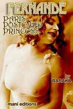 FERNANDE PARIS POSTCARD PRINCESS CLASSIC NUDE MODEL BIO 65 FINE PHOTOS CD-ROM