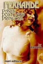 FERNANDE PARIS POSTCARD PRINCESS CLASSIC NUDE MODEL BIO 65 EROTIC PHOTOS CD-ROM