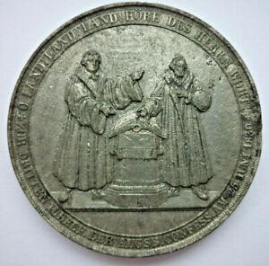 Medaille, Gusseisen, Augsburg medaille 1830 Übergabe Konfession (Art.5094)