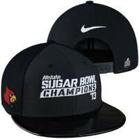 Louisville Cardinals 2013 Sugar Bowl Champions Nike Locker Room snapback cap hat