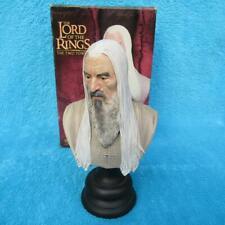 SIDESHOW WETA Herr der Ringe SARUMAN THE WHITE Büste Lord of the Rings STATUE