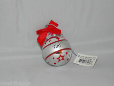 NWT~Hallmark-Joyous Noel Personalized Ornaments by GANZ-Mini-Christmas-TIM