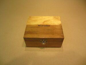 GENUINE MYFORD - COLLET BOX