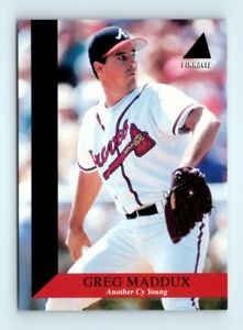 1994 Pinnacle - Tribute #TR12 Greg Maddux Insert Card Atlanta Braves HOF
