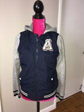 Abercrombie  Kids Boys Varsity Jacket Size 15/16