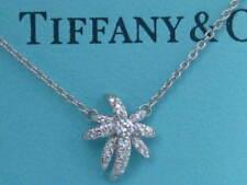 TIFFANY & CO. FIREWORKS DIAMOND PLATINUM NECKLACE PENDANT RARE