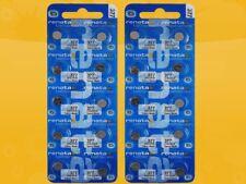 20 x Renata 377 V377 SR626SW SR66 AG4 24mAh 1,55V Knopfzelle Uhrenbatterien