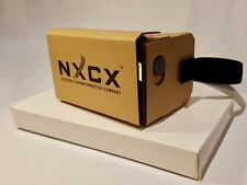 NXCX Premium Virtual Reality (VR) Cardboard Headset