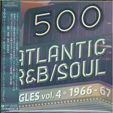V.A.-500 ATLANTIC R&B/SOUL SINGLES VOL 4-JAPAN 2 CD+BOOK K81