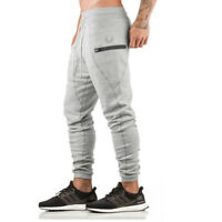Mens Slim Fit Sport Gym Skinny Jogging Joggers Tracksuit Sweat Pants Trousers