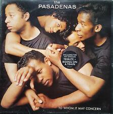 The Pasadenas – To Whom It May Concern Vinyl LP