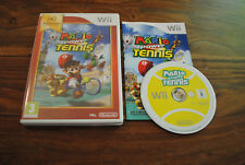 Jeu MARIO POWER TENNIS pour Nintendo Wii PAL COMPLET (CD OK)