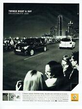 Publicité Advertising 059  2008  Renault la  Twingo Night & day