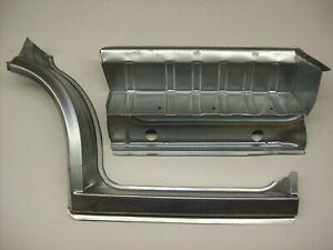 Einstiegblech Kniestück Schweller Einstieg Set vorne links 3tlg. VW T4 Bj. 90-04